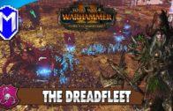 Defending Galleon's Graveyard – The Dreadfleet – Total War: Warhammer 2 Vampire Coast Campaign Ep 7
