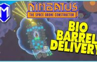 Delivering Bio Barrels – Massive Live Stream Part 8 – Let's Play Nimbatus Alpha Gameplay Ep 16