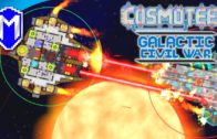 Dual Beam Cannons, Cutting Ships In Half – Galactic Civil War – Let's Play Cosmoteer Gameplay Ep 3