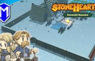 Making Friends With Mountain And Walling Off Our Town – Let's Play Stonehearth ACE Mod Gameplay Ep 8