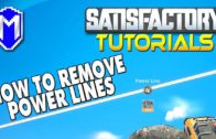 How To Remove Power Lines, How To Disconnect Power – Satisfactory How To Guides And Tutorials