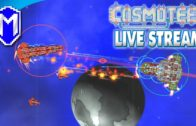 Destroying A Carrier – Let's Play Cosmoteer Modded Gameplay Live Stream Ep 10