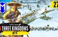 Winter Siege Battle – He Yi – Yellow Turban Records Campaign – Total War: THREE KINGDOMS Ep 27