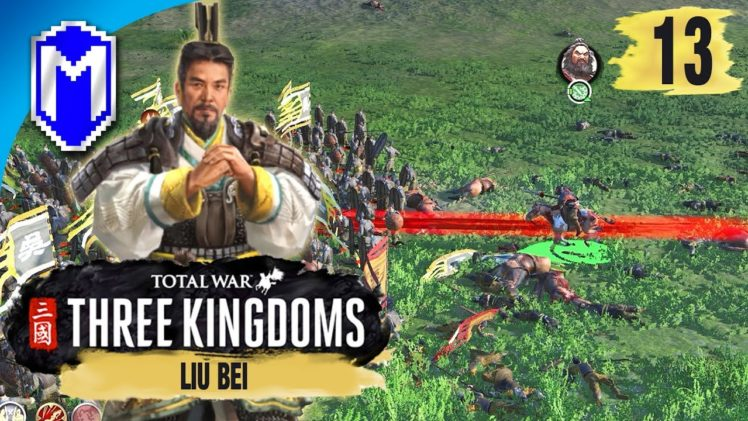Large Coastal Battle – Liu Bei – Legendary Romance Campaign – Total War: THREE KINGDOMS Ep 13