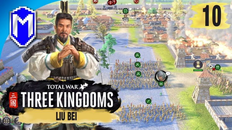 Siege Defense – Liu Bei – Legendary Romance Campaign – Total War: THREE KINGDOMS Ep 10