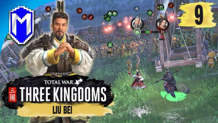 This Isn't Good – Liu Bei – Legendary Romance Campaign – Total War: THREE KINGDOMS Ep 9