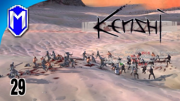 Attacking The Holy Nation, Okran's Shield – Let's Play Kenshi Mods Gameplay Ep 29