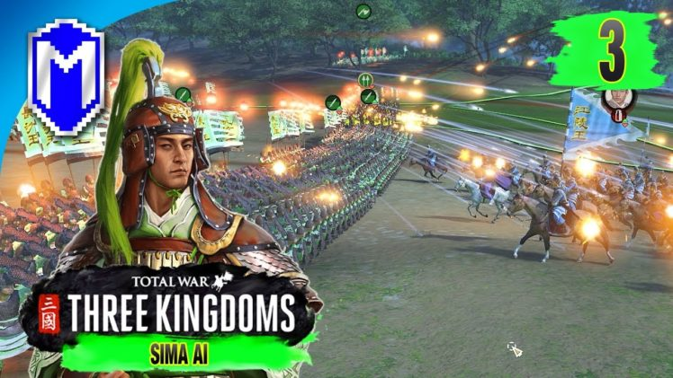 Fighting At Night – Sima Ai – Eight Princes Records Campaign – Total War: THREE KINGDOMS Ep 3