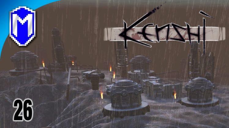 Finding Sadneil In Black Desert City, Town Full Of Skeletons – Let's Play Kenshi Mods Gameplay Ep 26