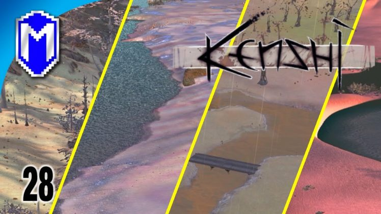 Looking For The Best Base Location, Exploring The Holy Land – Let's Play Kenshi Mods Gameplay Ep 28