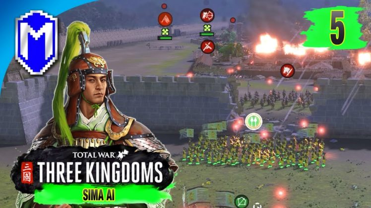 Marching Into The Breach – Sima Ai – Eight Princes Records Campaign – Total War: THREE KINGDOMS Ep 5