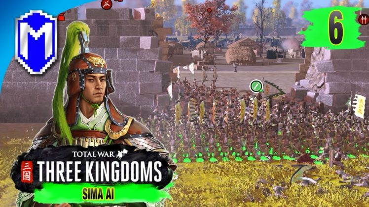 Sieging Another City – Sima Ai – Eight Princes Records Campaign – Total War: THREE KINGDOMS Ep 6
