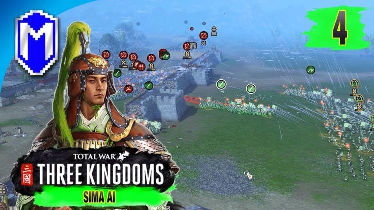 Tearing Down The Walls – Sima Ai – Eight Princes Records Campaign – Total War: THREE KINGDOMS Ep 4