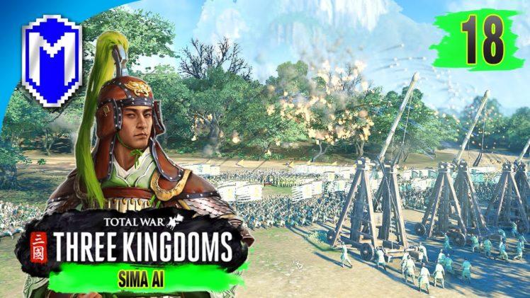 Attacking The Empire – Sima Ai – Eight Princes Records Campaign – Total War: THREE KINGDOMS Ep 18