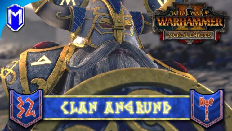 BATTLE OF THE GREAT OCEAN – Clan Angrund – Total War: WARHAMMER II Mortal Empires Ep 32