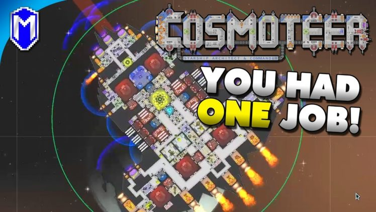 More Missile Protection – You Had One Job Challenge – Let's Play Cosmoteer Gameplay Ep 5