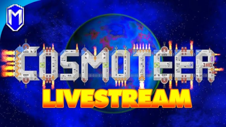 RIP Computer 😢 – Streaming Cosmoteer On My Wife's Computer