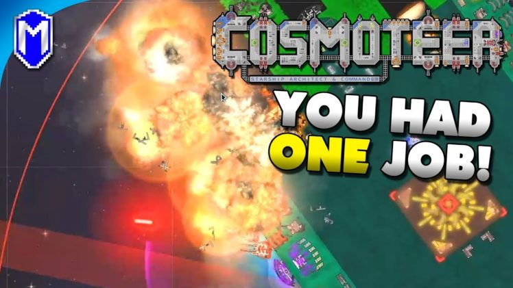 Super Long Range EMP Missiles – You Had One Job Challenge – Let's Play Cosmoteer Gameplay Ep 4