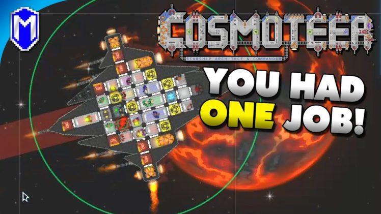 The Rainbow Ship – You Had One Job Challenge – Let's Play Cosmoteer Gameplay Ep 1