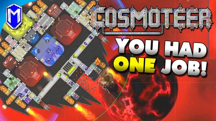 Upgrading The Range On Our Guns – You Had One Job Challenge – Let's Play Cosmoteer Gameplay Ep 3