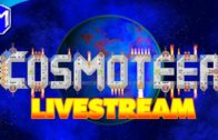 Beam Only Ship And Large Railgun Ship – RIP Computer 😢 – Streaming Cosmoteer On My Wife's Computer