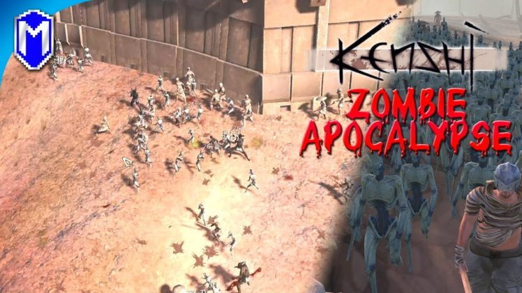 Fighting Off A Massive Zombie Army Invasion, Protecting The Hub – Kenshi Zombie Apocalypse Ep 31