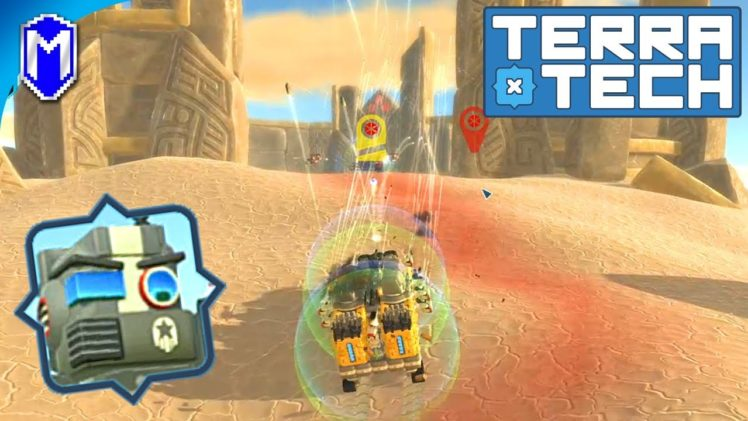 TerraTech – Attacking The Spider King At Crowntop Hill Fort – Let's Play/Gameplay 2020