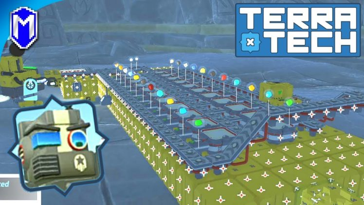 TerraTech – Building Storage For Our Base, Building Our New Base – Let's Play/Gameplay 2020