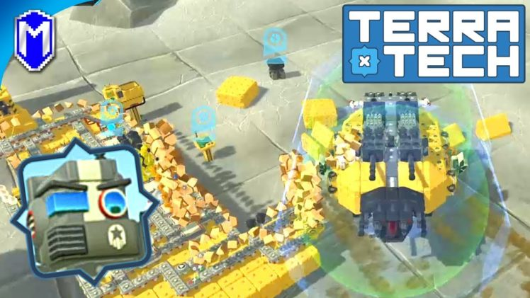 TerraTech – Modifying Our Hover Tank Into A Hover Resource Harvester – Let's Play/Gameplay 2020