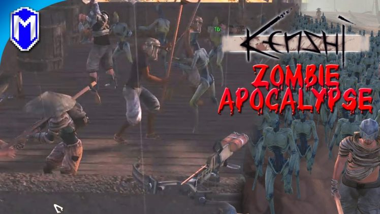 Farmers Last Stand, Zombies Attacking The Farmstead – Kenshi Zombie Apocalypse Ep 47