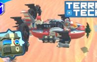 TerraTech – Building A Fast Hover Racer For The Races, Flying Racecar – Let's Play/Gameplay 2020