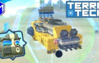 TerraTech – Building A Hover Turret, Flying Base Defense – Let's Play/Gameplay 2020