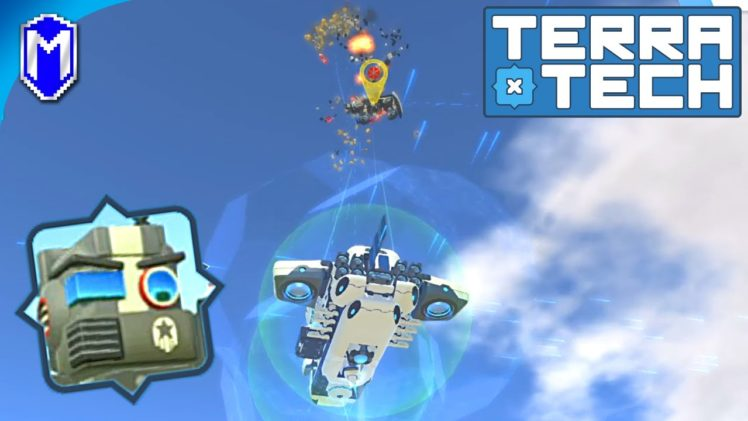 TerraTech – Get Down Here! Battling A Flying Enemy Tech – Let's Play/Gameplay 2020