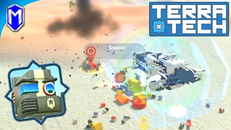 TerraTech – Protecting Luigi, Stopping Waves Of Enemy Techs – Let's Play/Gameplay 2020