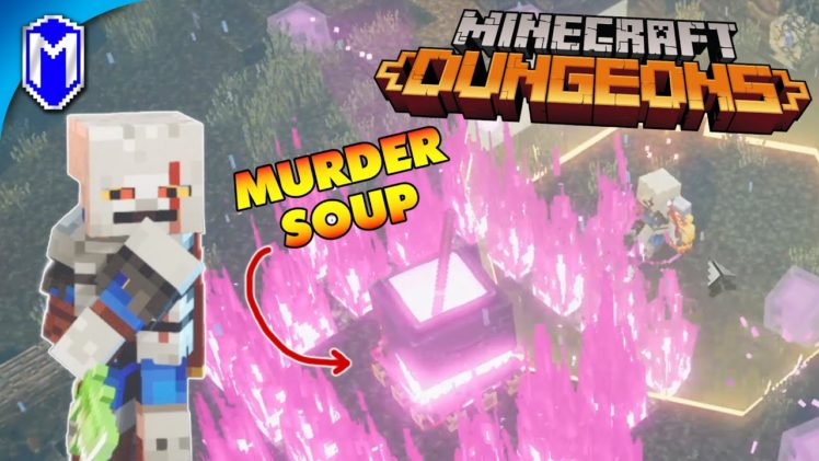 Cauldron Full Of Murder Soup – Soggy Swamp – MINECRAFT DUNGEONS – PC Gameplay
