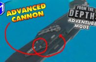 From The Depths – Building Our Dual Advanced Cannon Turret – FTD Adventure Mode