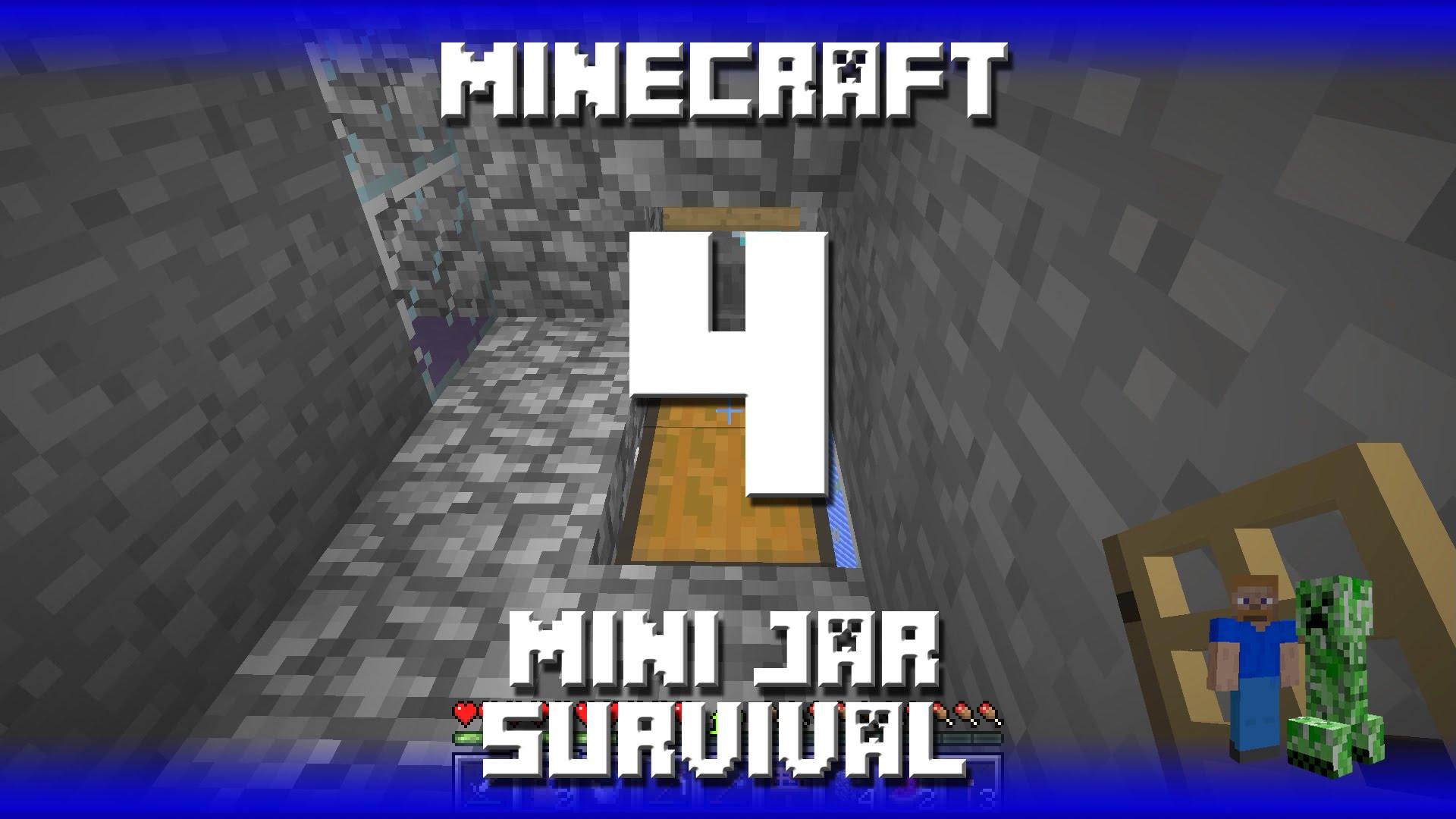 Minecraft Mini Jar Survival Map Episode 4 Automatic Skeleton