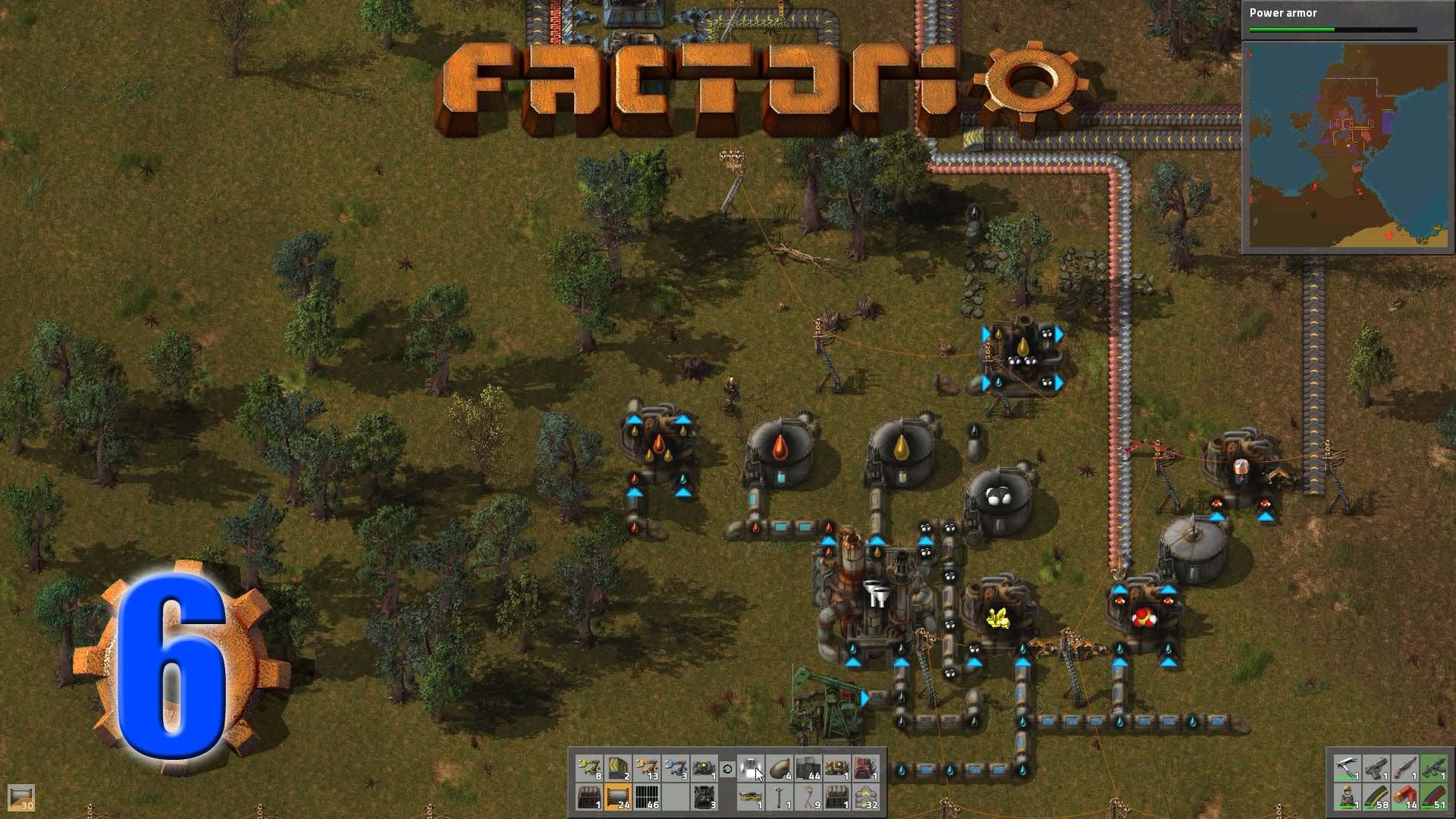 Factorio (Letu0027s Play   Gameplay) Episode 6 U2013 Automating Blue Science And  Advanced Oil Processing   MacGhriogair