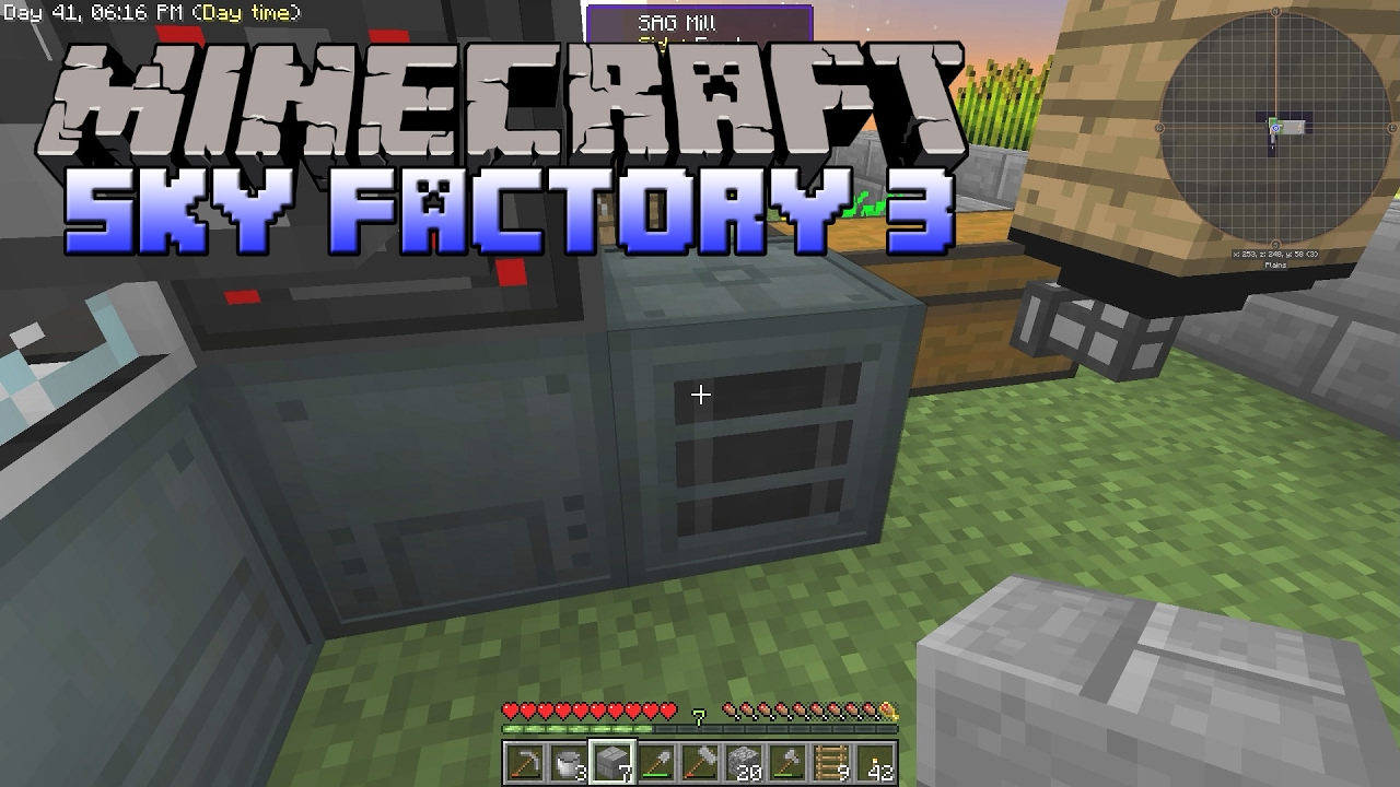 How To Make Steel In Minecraft Sky Factory - minimalist