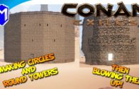 Conan Exiles – How To Build Circles and Round Towers – Conan