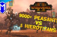 5 HIEROTITANS VS OVER 9000 PEASANTS, WHO WILL WIN? – Total War