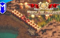 Shocking Tower And Stone Walls, Time To Upgrade – Let's Play They