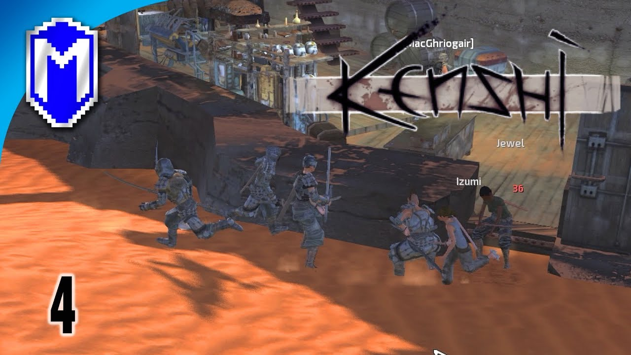 Being Hunted For Sport By Nobles – Let's Play Kenshi Mods
